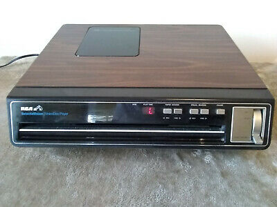 Vintage RCA SelectaVision Video Disc Player SFT 100W Videodisc Tested Read