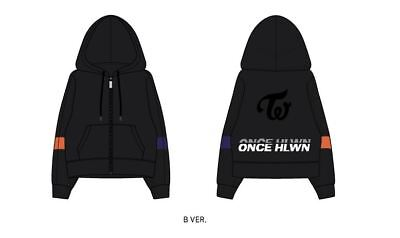 Twice Fanmeeting Once Halloween Official Goods Hoodie Hood Zip-Up Xl Size Ver. B