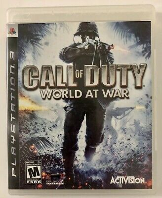 Call of Duty: World at War (Sony PlayStation 3, 2008) PS3 Game FREE SHIPPING!