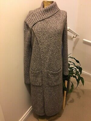 WITCHERY Mohair Blend Long Cardigan- Small