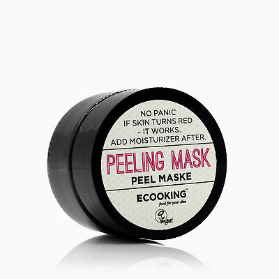 ECOOKING Peeling Face Mask, 15ml - With Alpha Hydroxy & Salicylic Acids