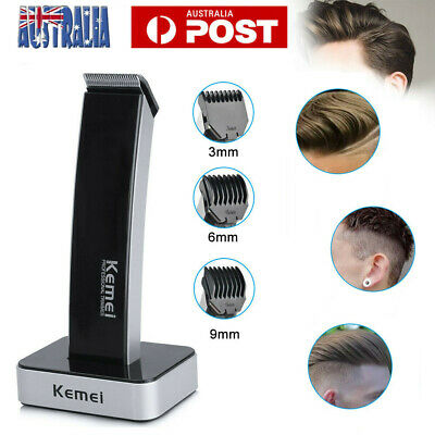 Electric Hair Cut Cordless Beard Clippers Rechargable Trimmer Shaver Razor Comb