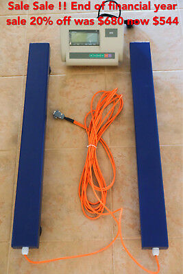 500kg Load Bar Sheep Beam Scales Cattle Scale Pig Animal Livestock 80cm Long