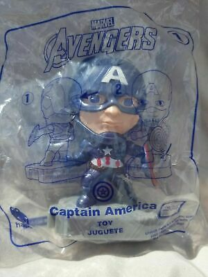 New CAPTAIN AMERICA McDONALD's 2019 MARVEL AVENGERS ENDGAME HAPPY MEAL TOY #1