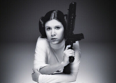Carrie Fisher Princess Leia Star Wars Beautiful Photo Picture Fridge Magnet CF07
