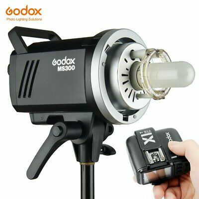 Godox MS300 300WS Studio Strobe Head 220V Flash + X1T-C Trigger For Canon Camera