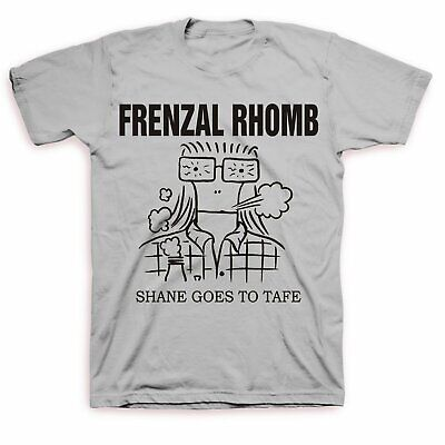 Frenzal Rhomb - Shane Goes To Tafe T-shirt (Grey)