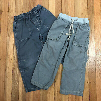 Hanna Andersson Mini Boden Boys Pants Grey 110 and 5 Years 5T