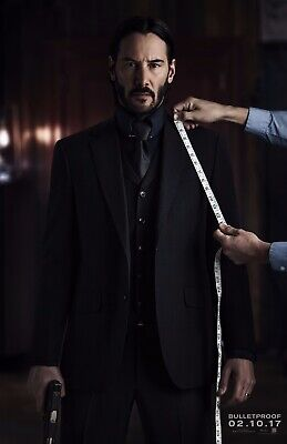 John Wick Chapter 2 (2017) | Teaser | Original Movie Poster | 27x40 Double Sided