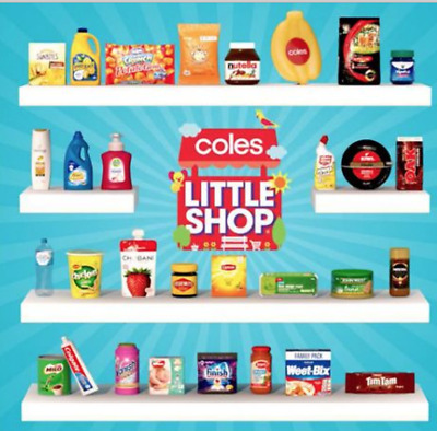 Coles Little Shop 2018 Series 1 Christmas Edition Minis You Choose playtime fun
