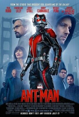 Ant-Man (2015) | Final | Original Movie Poster | 27x40 Double Sided