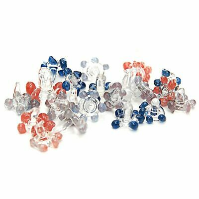 200 Count Pipe Filter Glass Screens | For Pipes Bowls Bongs Rigs | Daisy | Star