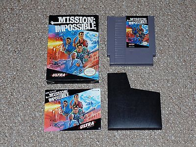 Mission: Impossible Nintendo NES Complete in Box