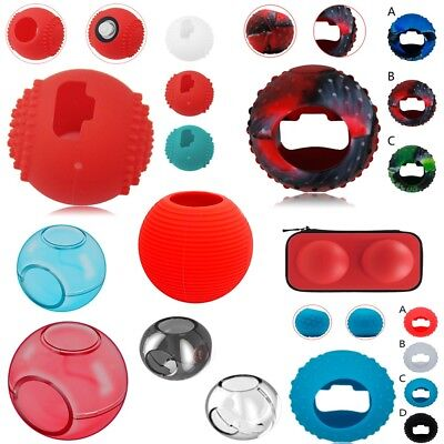 For Nintendo Switch Poke Ball Plus Eevee Game Bag Silicone Protective Case Cover
