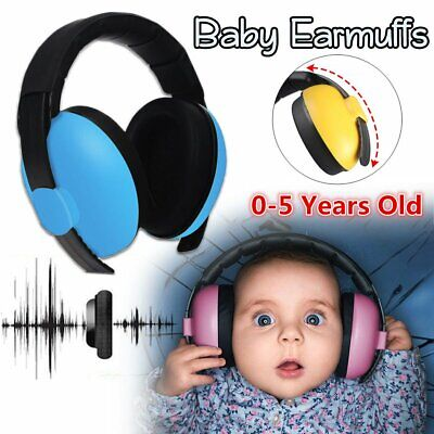 Baby Ear Muffs Noise Cancelling Reducing Ear muffs Hearing Protection 0-3 Year