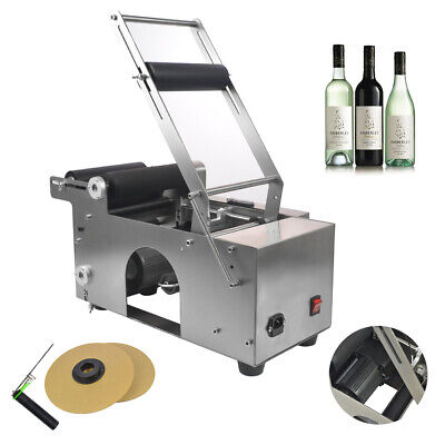 120W MT-50 Semi-automatic Ce Certificated Round Labeling Bottle Machine Labeler