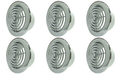Airvent 404147 Round Ceiling Diffuser Vent Grille Polished