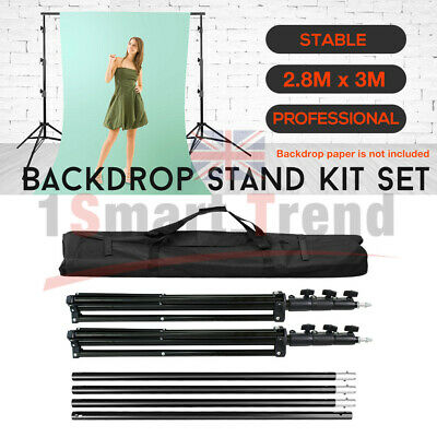 Studio Heavy Duty Backdrop Stand Screen Background Support Stand KIT Photography