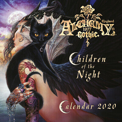 Alchemy Gothic - Children of the Night Official 2020 Wall Calendar - C20001
