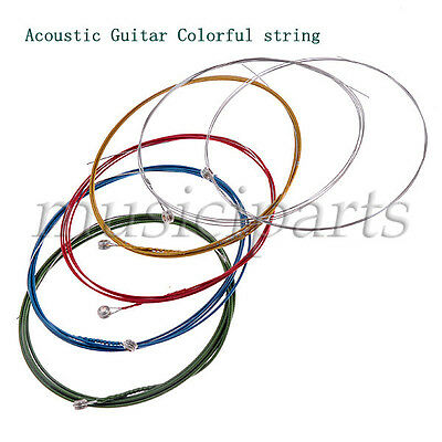 2 Sets Different Guitar Strings For Electric Acoustic Guitar