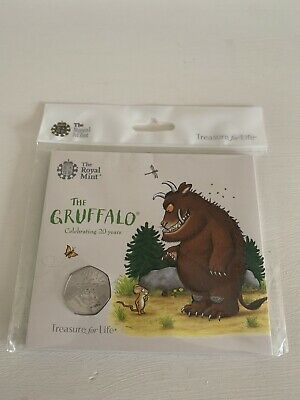 2019 The Gruffalo 50p Coin BUNC Royal Mint Pack Sealed.