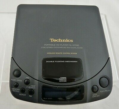 Technics SL-XP505 CD player, headphones BUT NO remote