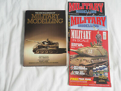 4 X MILITARY In Scale Model Magazines - £12 00 | PicClick UK