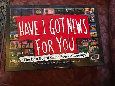 Have I Got News For You HIGNFY Board Game - Brand New in Box  - Still sealed