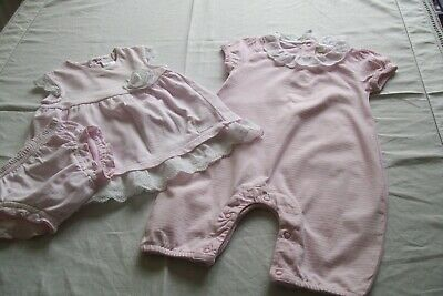 Baby girls clothes Jojo Maman/Tuto Piccolo 6-12/9m - combined postage available