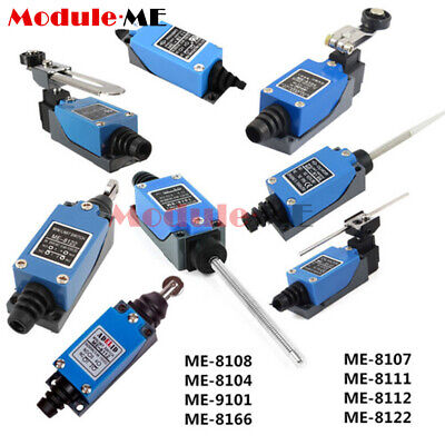 Micro Position Limit Switch ME 8108 8104 9101 8166 8107 8111 8112 8122 Actuator