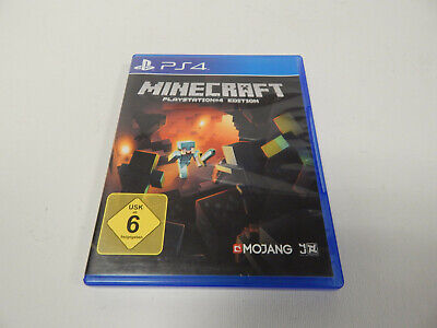 Minecraft: PlayStation 4 Edition (Sony PlayStation 4) PS4 komplett OVP