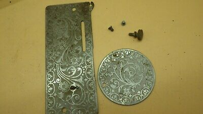 Antique 1912 Singer 27 Sewing Machine SN 1699778 Ornate Front & Side Plates