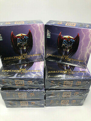 1993 DYNAMIC THE CREATORS UNIVERSE TRADING CARD FACTORY SEALED BOX w/ 36 Packs