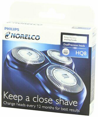 Genuine Philips Norelco HQ8 Shaver Head Replacement Razor Blades Cutter