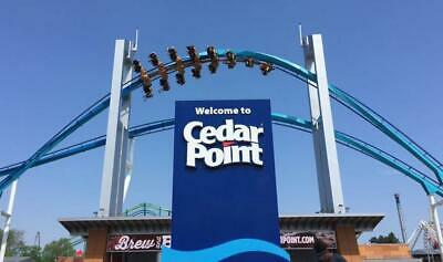 6 Cedar Point Tickets + 2 Parking Passes