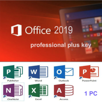 Office 2019 Professional Plus license Key Office 2019 Pro Plus instantanée ✔