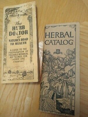 Herbal Catalog & The Herb Doctor 1938-1943