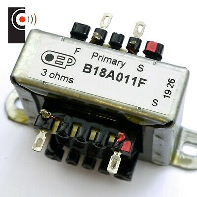 Amplifier Output Transformer  2W, 3Ohms S.E. Made in GB (OEP B18A011F)