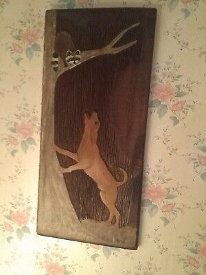 Very rare Antique Folk art carving by e.h.deese.hard to find.