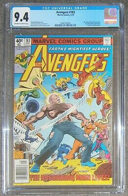 AVENGERS #183 MAY 1979 CGC 9.4 Ms MARVEL JOINS TEAM, ABSORBING MAN Appearance