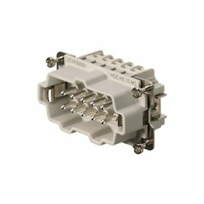 New 1pc Weidmuller 1203900000 Male connector HDC HE 10 MS
