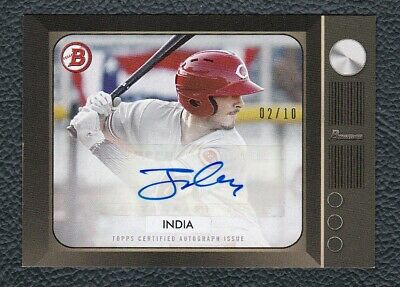2019 Topps On Demand '55 Bowman JONATHAN INDIA Reds Rookie Autograph /10