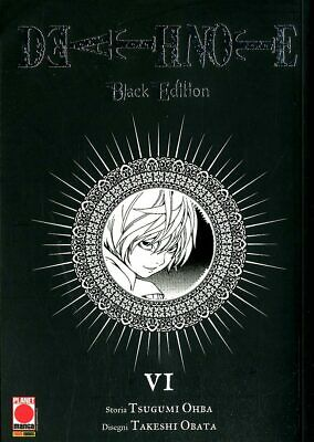 Death Note Black Ed 6 - Planet Manga - 10% Ristampa
