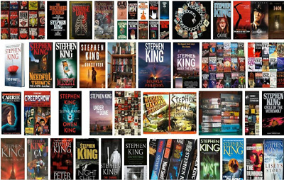Stephen king-68 Audiobooks Collection (MP3) 📧⚡Email Delivery(10s)⚡📧
