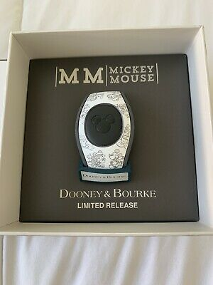 Disney Dooney & Bourke Mickey Mouse 90th Through The Years  Magicband Magic Band