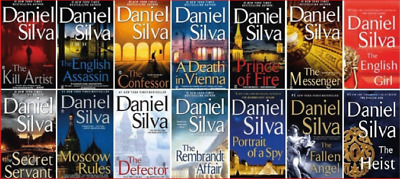 The Daniel Silva 14 Audiobook Collection (MP3) Audiobook📧Email Delivery(10s)📧