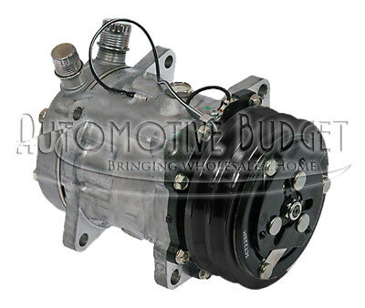 A/C Compressor w/Clutch for Freightliner and Mack Trucks - NEW