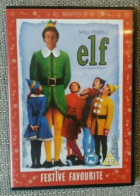 Elf DVD 2 Disc Limited Edition - All Wrapped Up Festive Edition