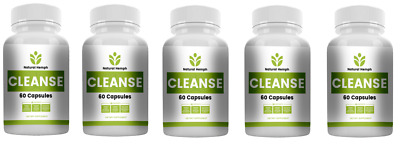 Colon & Body Cleanse Cleansing Diet Weight Loss Pills Made In USA PACK OF 5