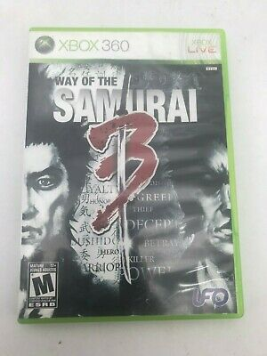 Xbox 360 Video Game: Way of the Samurai 3 I Mature